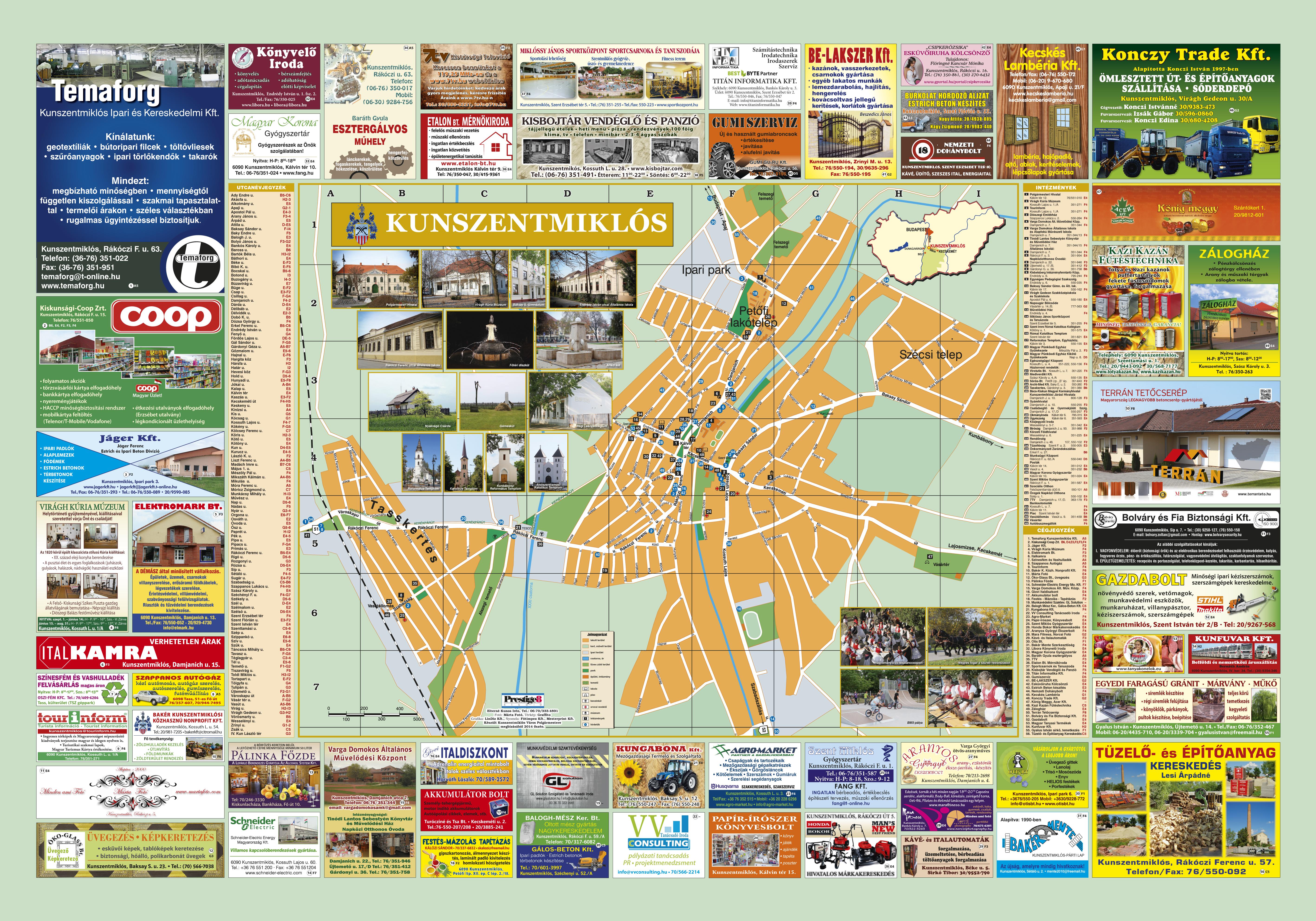 kunszentmiklós térkép Kunszentmiklos kunszentmiklós térkép